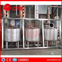 China Stainless Steel Home Distillery Equipment With Copper Distilling Colums wholesale