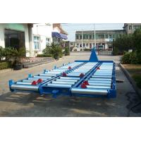 China Multifunction Airport Luggage Trailer Channel Steel Tow Bar With Solid Tire wholesale