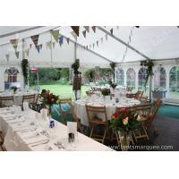 China Wind Resistant Outdoor Luxury Wedding Tents Marquee Aluminum Profile wholesale