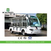 Buy cheap 14 Seater Electric Sightseeing Bus With Curtis Controller / MP3 Player / Speaker from wholesalers