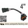 "China longyue 10pcs/unit 4 way Bosch BSK 4 pin map sensor harness male & female extension 4"" wholesale"