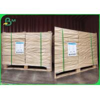 China FSC / SGS Approved Natural White Absorbent Paper Sheets For Coasters 1.0mm 1.2mm on sale