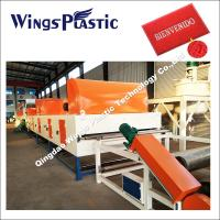 China CE & ISO PVC Coil Cushion Floor Mat Manufacturing Machine / Extrusion Line on sale