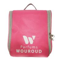 China Multifunction Pink Portable Waterproof Travel Toiletry Bag Large Capacity on sale