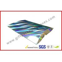 China Laser Silver Card board Packaging A4 B5 Document Card Board Packaging wholesale
