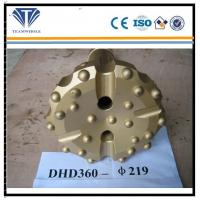 Construction DTH Drilling Tools Ore Mining 219mm Dia DHD360 Drill Bit Button
