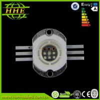 China 700mA 10w Full color RGB LED Diode , High Power LED module / beads on sale