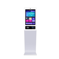 "China RK3288 22"" 300cd/m2 1366x768 Self Service Ordering Kiosk wholesale"