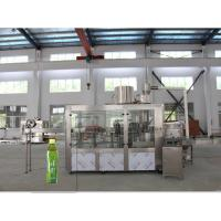 China High Speed 3 In 1 Hot Filling Machine , Beverage Bottling Line Automatic on sale