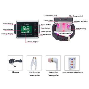 China Low Level Laser Therapy Physical Equipment Wrist Watch For Diabetics wholesale