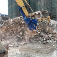 China Concrete demolition tools excavator small rock crusher for sale wholesale