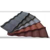 Buy cheap Colorful Stone Coated Metal Building Roof Tiles tone Coated Aluminum Roof Tile from wholesalers