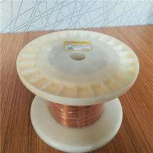 Buy cheap Super Thin Self Bonding Polyurethane UEW Class 180 Enamled Rectangular Flat Copper Wire from wholesalers