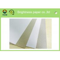 Buy cheap Anti Curl Whiteness Grey Back Duplex Board With One Side Offset Printing from wholesalers
