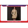 China Waterproof fashion Ladies Windbreaker Coats and Jackets Khaki or Black wholesale
