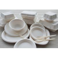 China Eco-Friendly Disposable 6 7 8 9 10Sugarcane Bagasse Paper Round Plates on sale