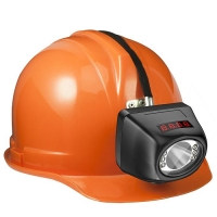 China Portable Digital 1 W LED Mining Cap Lamps Safety 120Lm With Cordless KL4.5LM wholesale