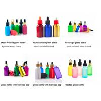 China 1oz 50ml Cosmetic Glass Bottles With Glass Pipette For Essential Oil  OEM wholesale