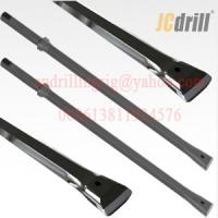 Buy cheap Quarry Integral Drill Steel Rod For Small Hole Drilling H22x108mm Shank from wholesalers