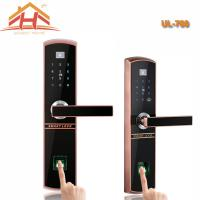 China IC Card And Fingerprint Recognition Biometric Door Lock With Remote Controller wholesale