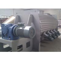 China High Speed Powder Ploughshear Mixer , Jacketed Ribbon Blender With Hot Water Injection wholesale