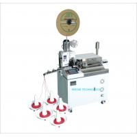 China Fast Speed Wire Crimping Machine One - Side Crimping And Tinning Machine wholesale