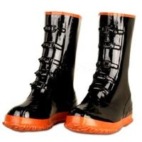China Non-Slip Black Garden Rubber Half Rain Boots For Men Size 36-46 wholesale
