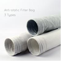 China Anti - Static High Efficiency Filter Bag Polyester 1000mm~8000mm Length wholesale