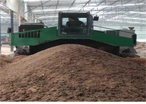 China Hydraulic Lifting 5200mm 2600m³/H Compost Turning Machine wholesale