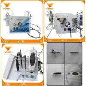 China Portable Ultrasonic Oxygen Spray diamond dermabrasion Hydrafacial Skin Care Machine wholesale
