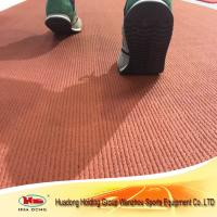 China IAAF certified vulcanized rubber roll for running track wholesale