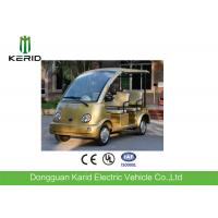 Buy cheap FRP Body Curtis Controller Electric Sightseeing Car 48V AC Motor Zero Pollution from wholesalers