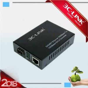 Buy cheap Single Fiber Optic Media Converter All 1.25G SFP Transceiver 10 / 100 / 1000 from wholesalers