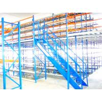 China Ebilmetal  Modular  Mezzanine Racking System By Painting Panel / Perforated Panel wholesale