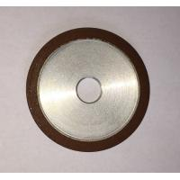 China Flat Resin Bonded Diamond Grinding Wheels Grit Abrasive For Crank Shaft Magnetic wholesale