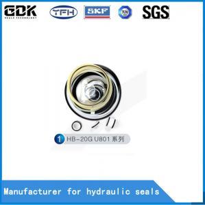 China Furukawa HB20G Hammer Breaker Seal Kit Yellow Blue Nok Parker Quality Breaker Seal Kit on sale