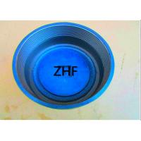 China Blue Cast Iron Floor Drain  Heavy Duty Couplings Assembled With Plastic Plug on sale
