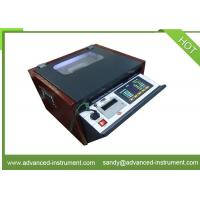 China 80kV Electrical Transformer Insulation Oil Breakdown Voltage BDV Tester on sale