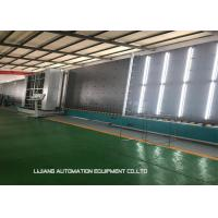 Quality Hydraulic Insulating Glass Line 300*500 Millimeter Min Size With Speed Change Device for sale
