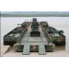 China 60tf Military Trestle Pontoon Bridge / Power Pontoon Bridge / Military Bridging Equipment wholesale