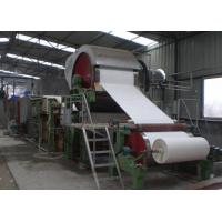Buy cheap Waste Recycling Manufacturing Production Line Mill Tissue Toilet Roll Making from wholesalers