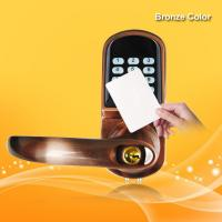 China Dual Anti Theft RFID Card Door Lock 4.8V-6.5V 12-18 Months Power Lifetime wholesale