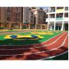 China Spike Resistant Playground Floor MaterialFor Children / Rubber RunningTrack wholesale