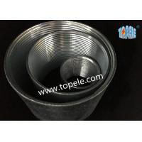 China Rigid Coupling Zinc Plated Steel , IMC Conduit Fittings , Electrical Galvanized Threaded Coupler wholesale