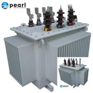 China 6.6 KV - 1600 KVA Oil Immersed Transformer Three Phase Power Transformer wholesale