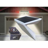 Quality Outdoor Solar Powered Security Lights With Motion Sensor , IP65 Protection for sale