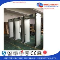 China 33 Zones Metal Detector Door By Wifi To Connect PC / Airport Door Frame Metal Detector on sale