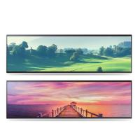 China Horizontal Stretched Bar Lcd Display 32 38 Inch 2/3 Cut Special Size wholesale