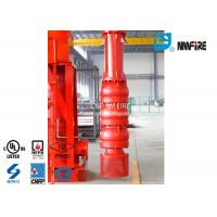China 500 Usgpm Vertical Turbine Fire Pump Installation Easy With Carbon Steel Column Pipe wholesale