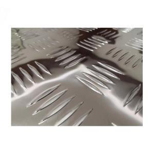 China 4x8 Feet 2.0MM Thickness Aluminum Diamond Plate Sheets Anti Slip 1060 Grade on sale